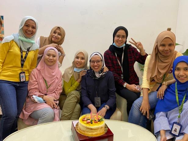 Suhaile, Fateen, Ida, Atteya, Haza, Liza & Syima